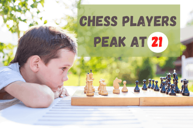 Peak Age for Chess – And When To Expect to Get Worse