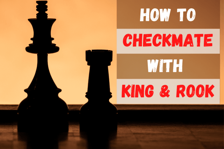 Checkmate with a Rook & King vs King: Chess Endgames