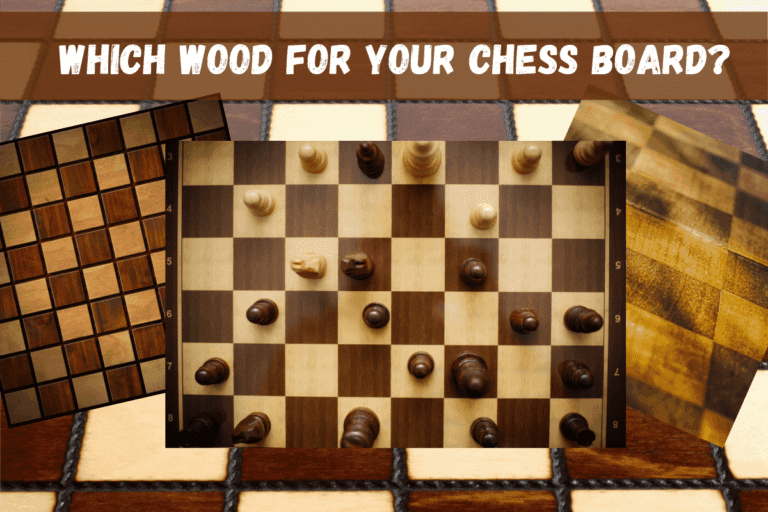 What Wood is Used for Chess Boards