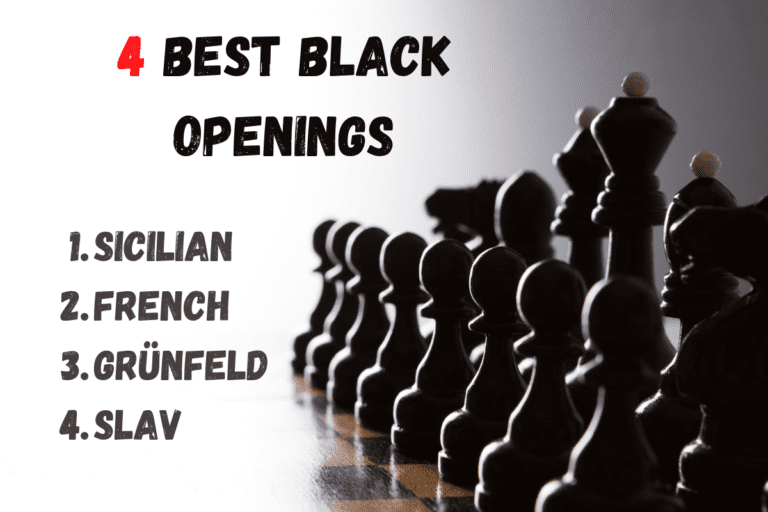 4 Best Openings for Black Pieces in Chess [Sicilian – French – Grunfeld – Slav)