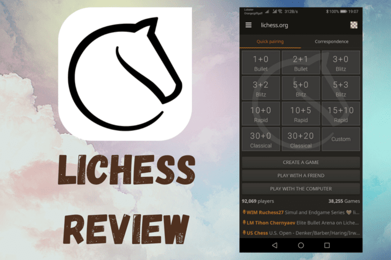 LiChess App Review (Play Online, Puzzles, Study & Watch)