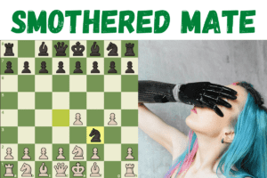 Smothered mate in chess featured image
